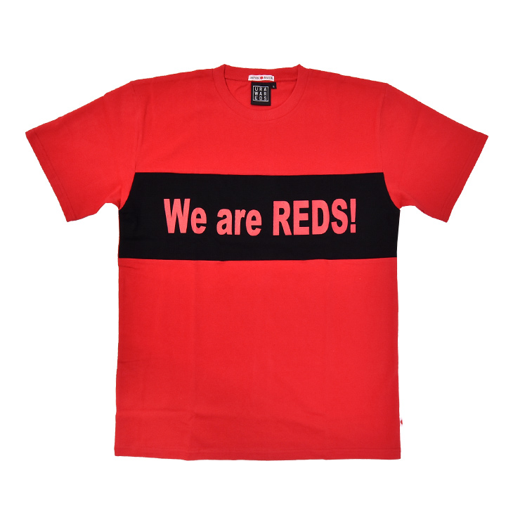 クルーネックTシャツ(We are REDS!)