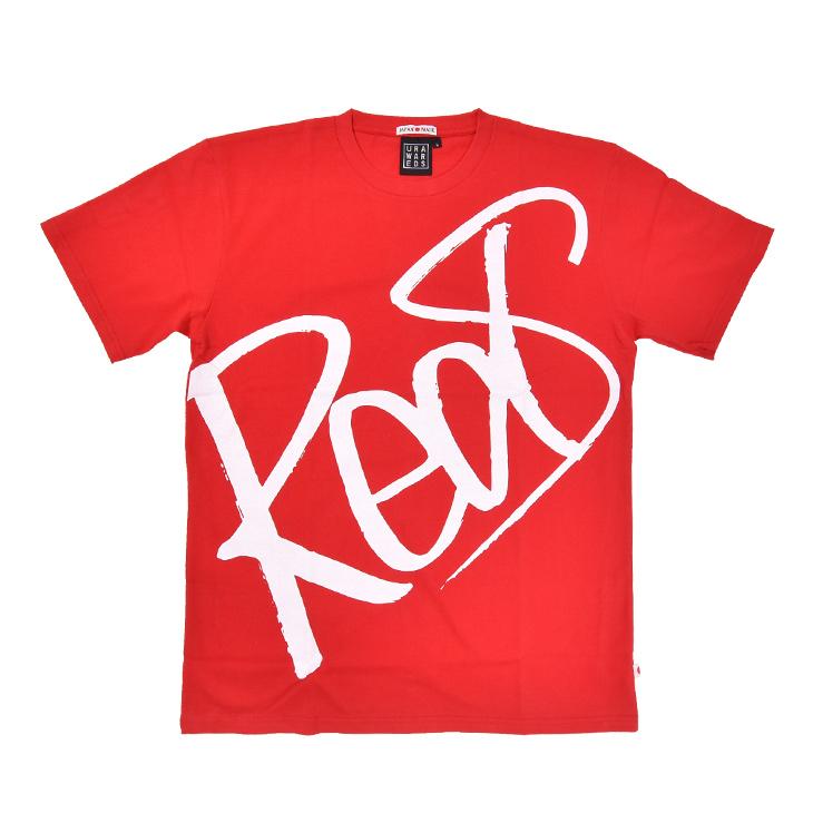 クルーネックキッズTシャツ(Reds)