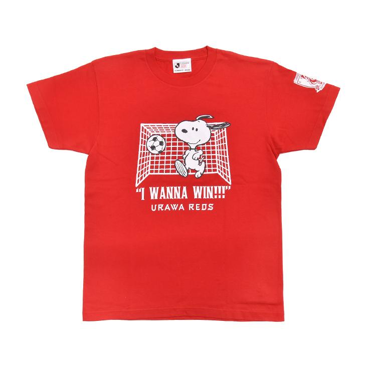 スヌーピー Tシャツ (ゴール)