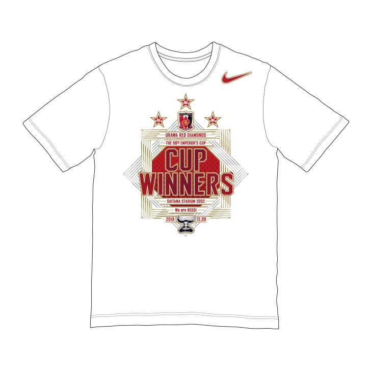 天皇杯 JFA 第98回全日本サッカー選手権大会優勝記念Tシャツ【NIKE】
