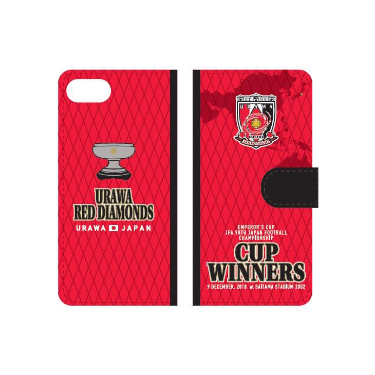 天皇杯 JFA 第98回全日本サッカー選手権大会優勝記念手帳型スマートフォンカバーケース