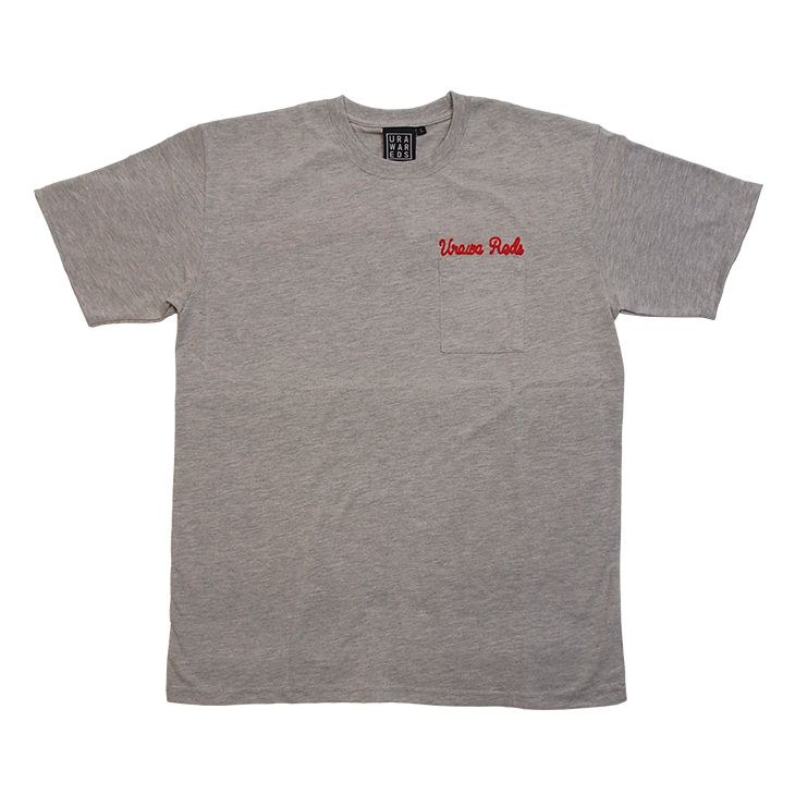 Tシャツ(チェーン刺繍)/グレー
