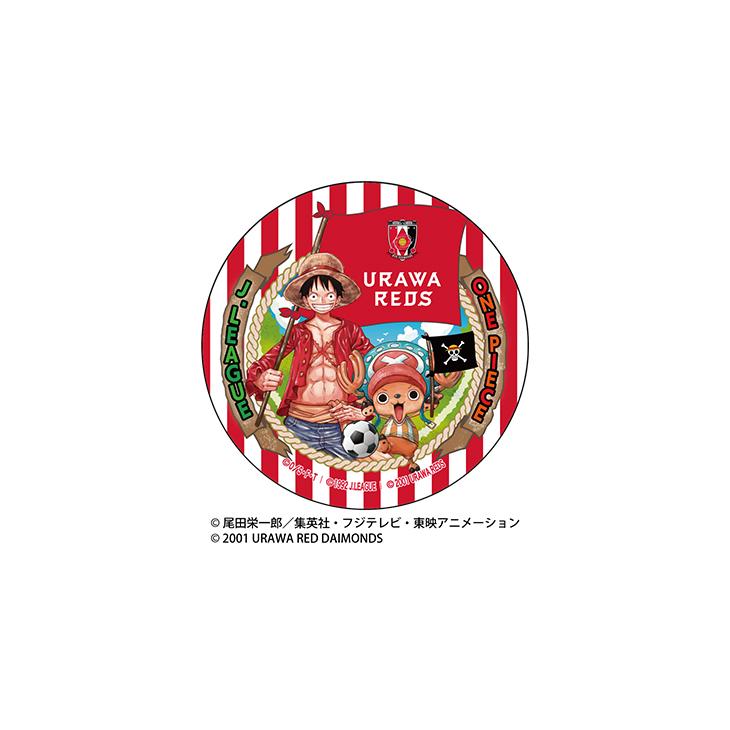URAWA RED DIAMONDS/ONE PIECEコラボ 缶バッジ