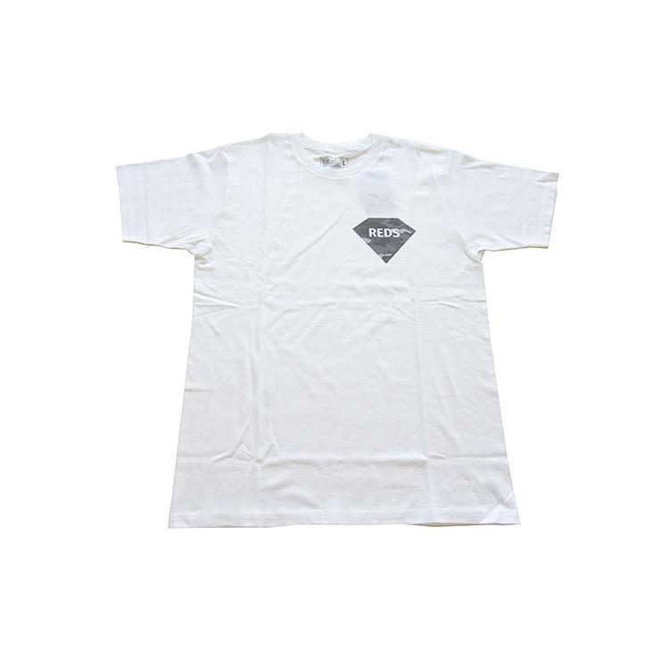 19Tシャツ(迷彩ダイヤ)/白