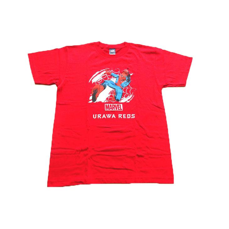 スパイダーマン×浦和レッズTシャツ