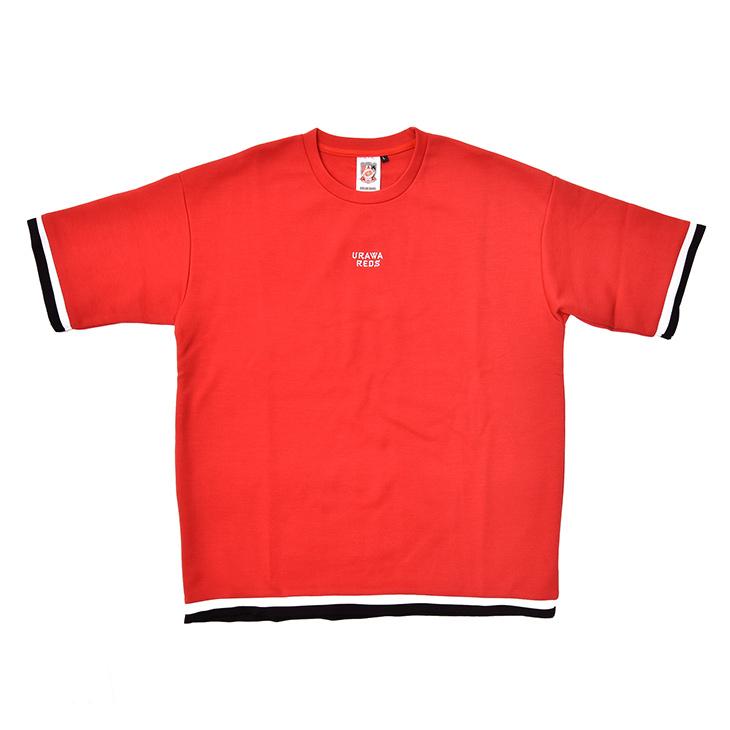ラインビッグTシャツ(赤)