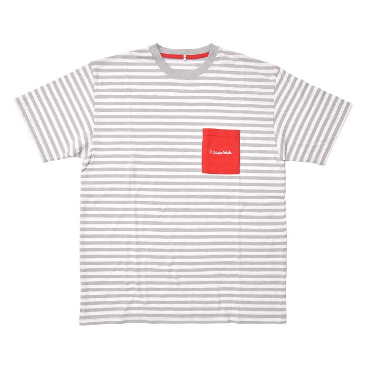 20ボーダーポケットTシャツ